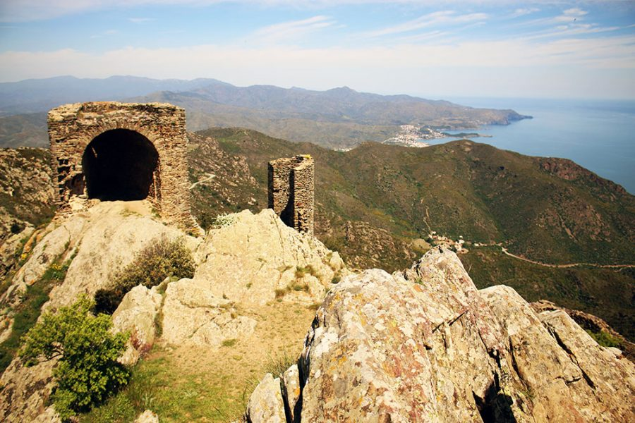 Incredible views from Sant Pere De Rodes, Catalonia