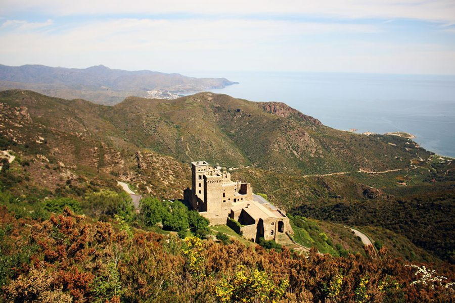 View From Sant Pere De Rodes