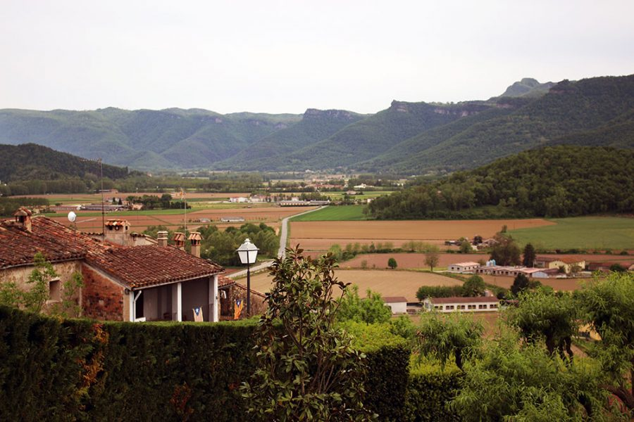 Views of Vall Den Bas from El Mallol