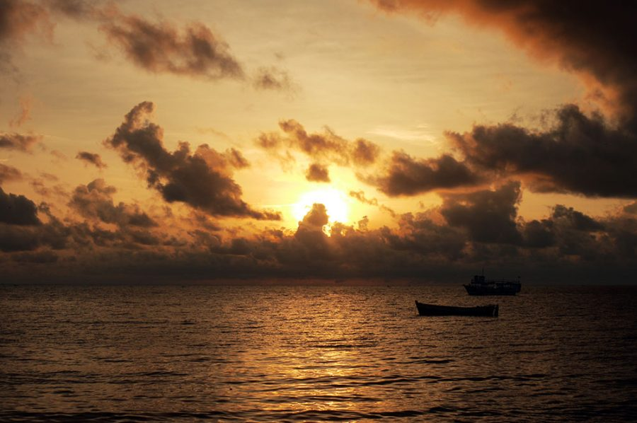 Sunrise at Rameswarem, India's southernmost point