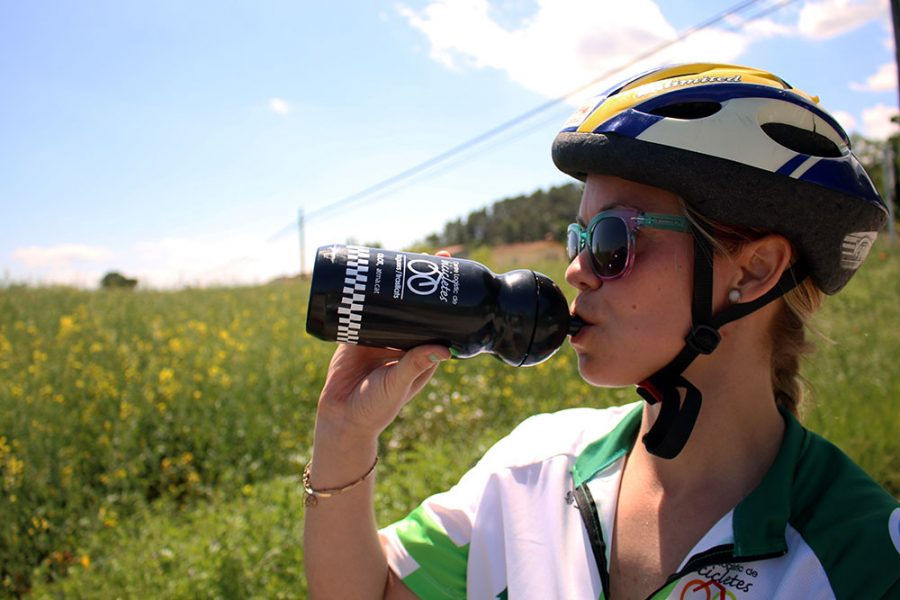 Cycling from the Pyrenees to the Costa Brava is thirsty work!