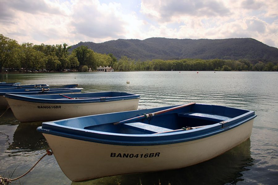 The shores of Lake Banyoles