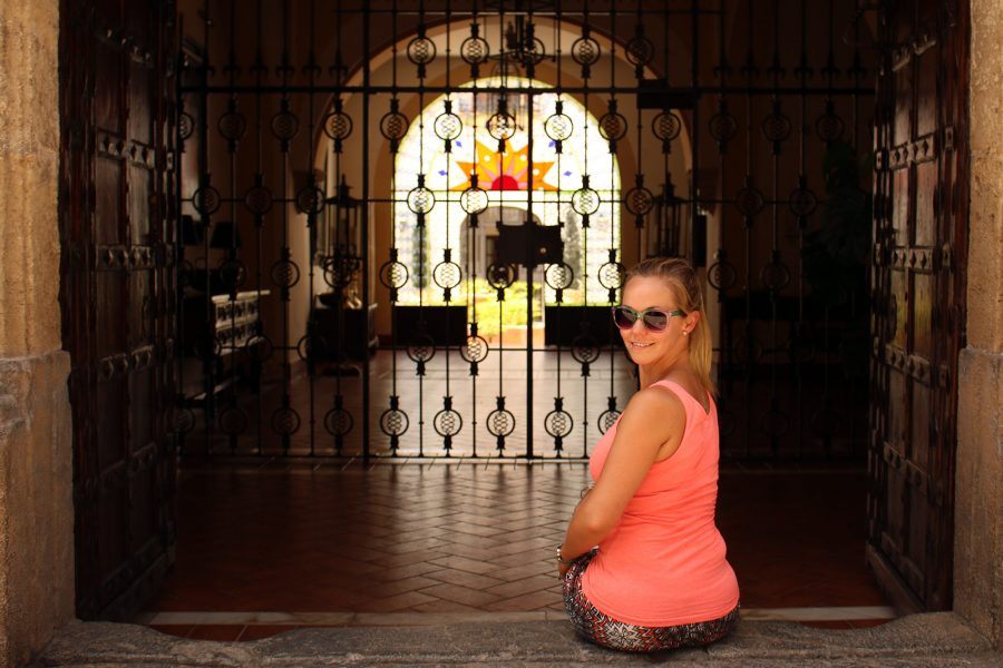 All on our own in Cordoba