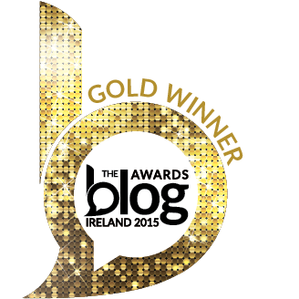 Gold Winner for Best travel Blog at the Blog Awards Ireland 2015