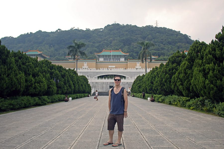 Brian at the National Palace Museum