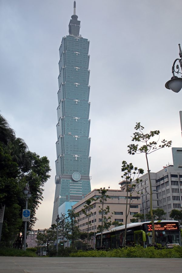 Taipei 101 from street level