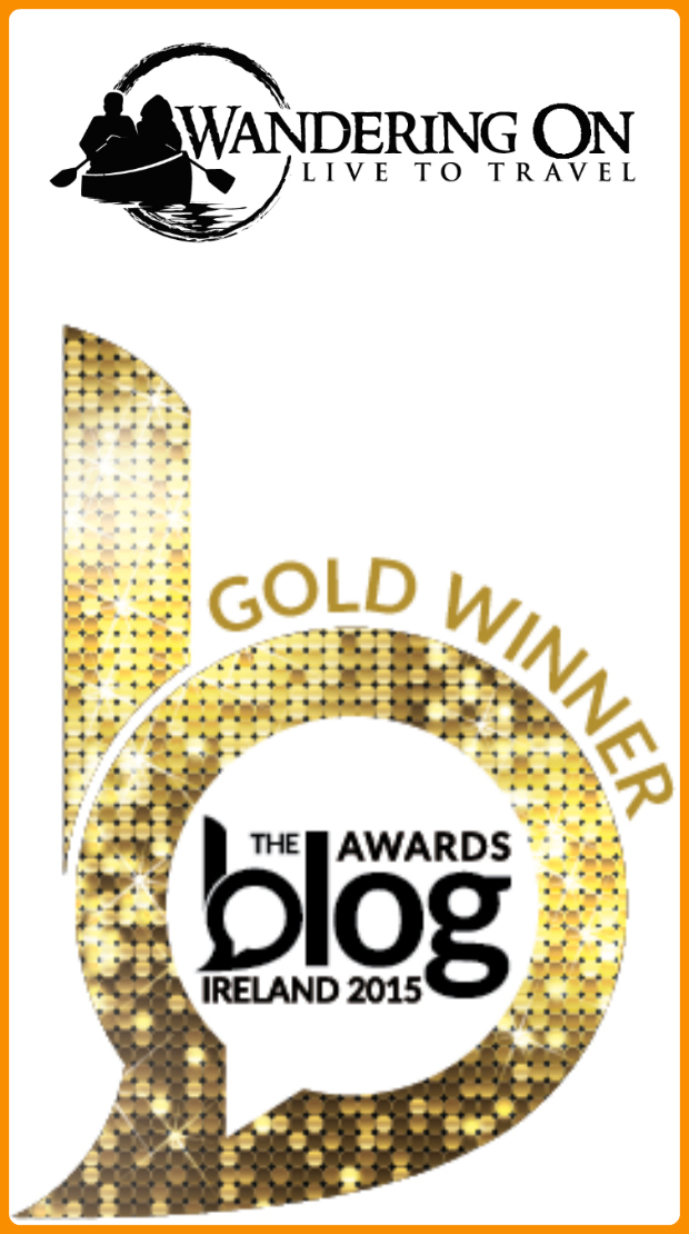 Pin it - Blog awards Ireland Gold Winner 2015