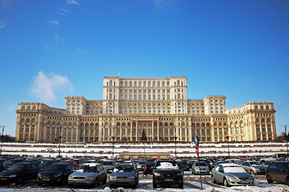 The HUGE Palace of Parliament