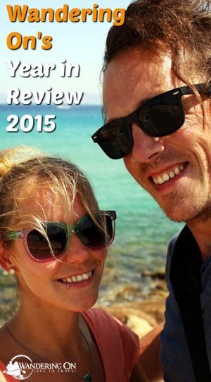 Pin it - Wandering On Year in review 2015 Pinnable Image