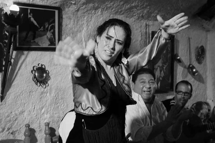 Flamenco performers in Granda