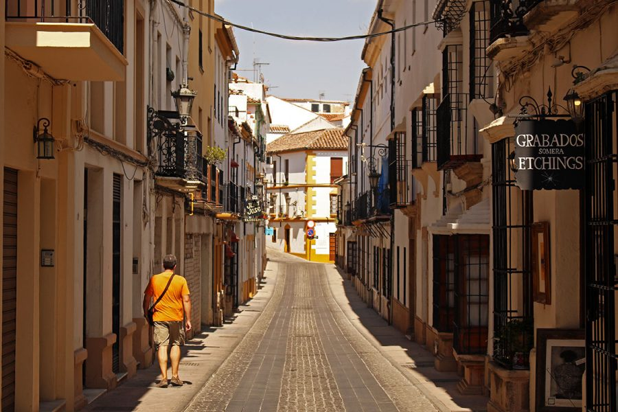 Strolling through the narrow streets of Andalucia's white villages