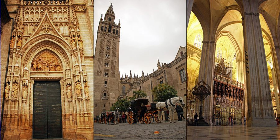 The mighty Seville Cathedral