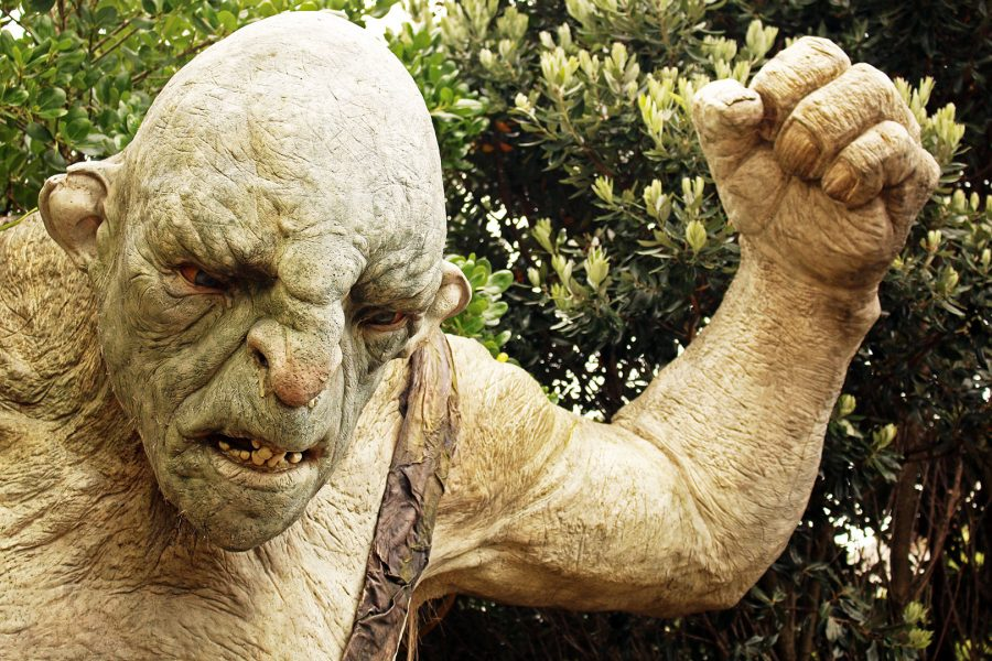 Bigatures at Weta Workshop in Wellington