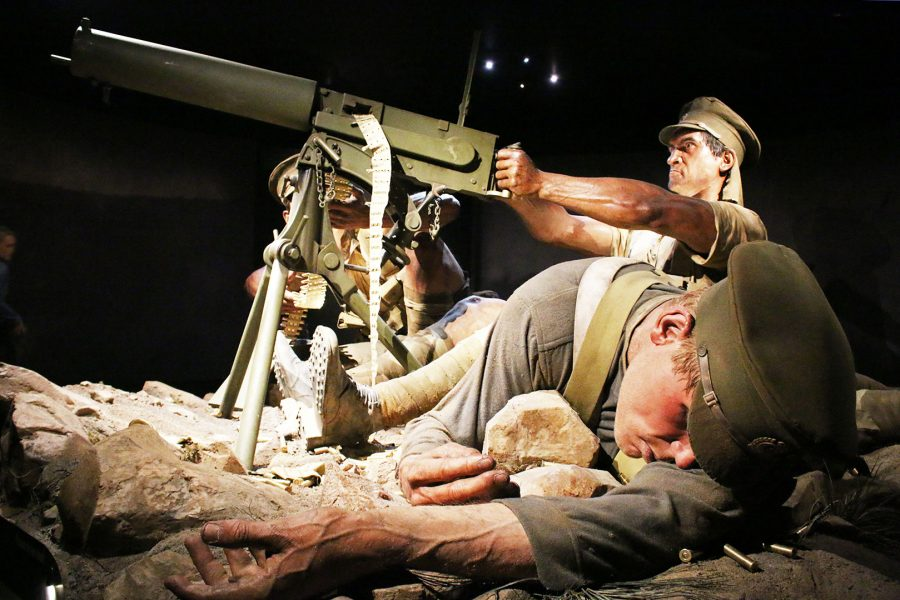 Gallipoli Exhibit at Te Papa Museum