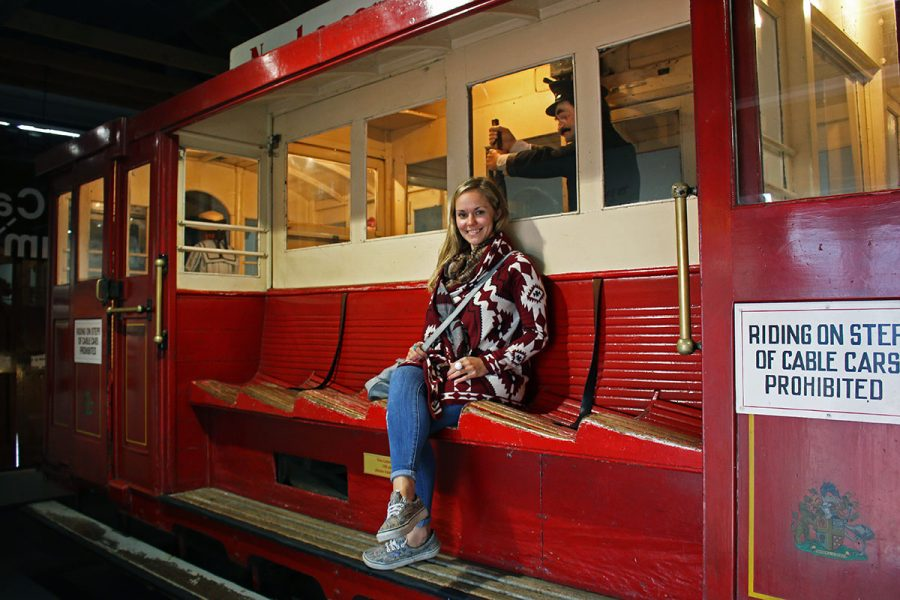 Ride the historic Wellington Cable Car