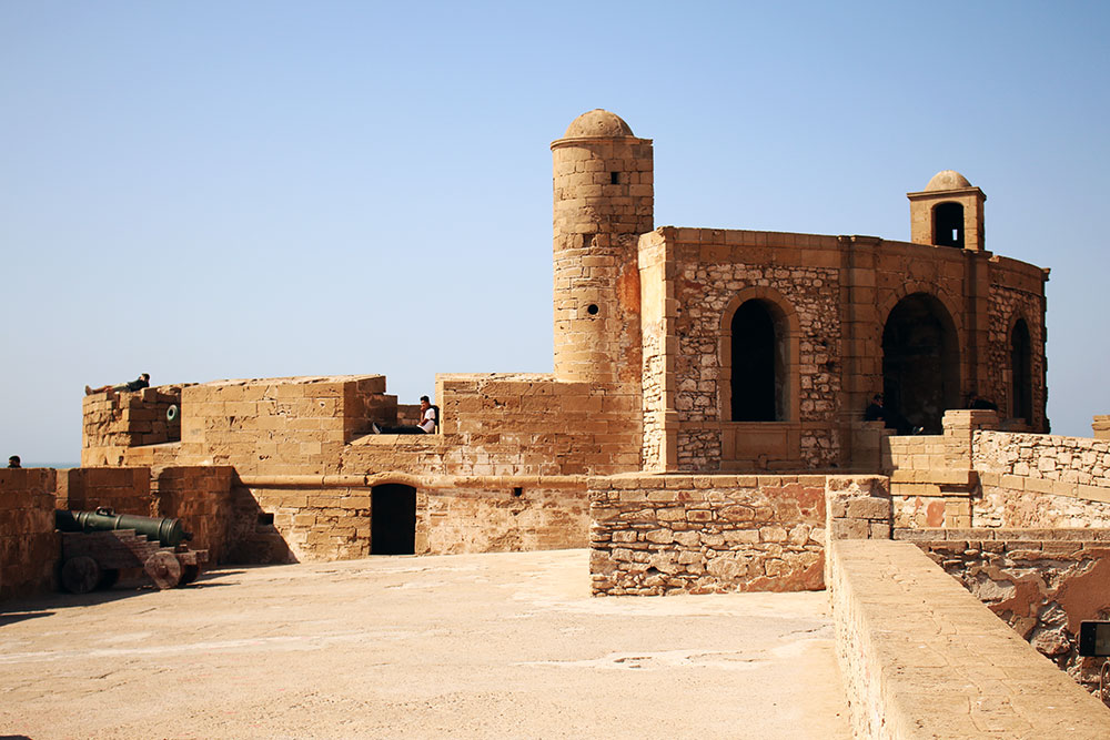 Photos of Morocco | The Essaouira Ramparts where part of Game Of Thrones was filmed.