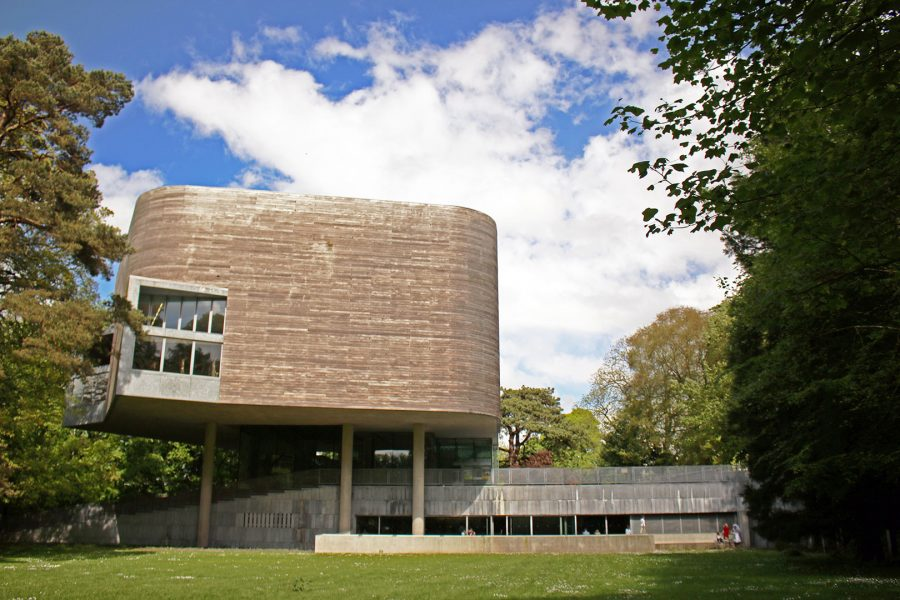 Glucksman Gallery inside the grounds of UCC