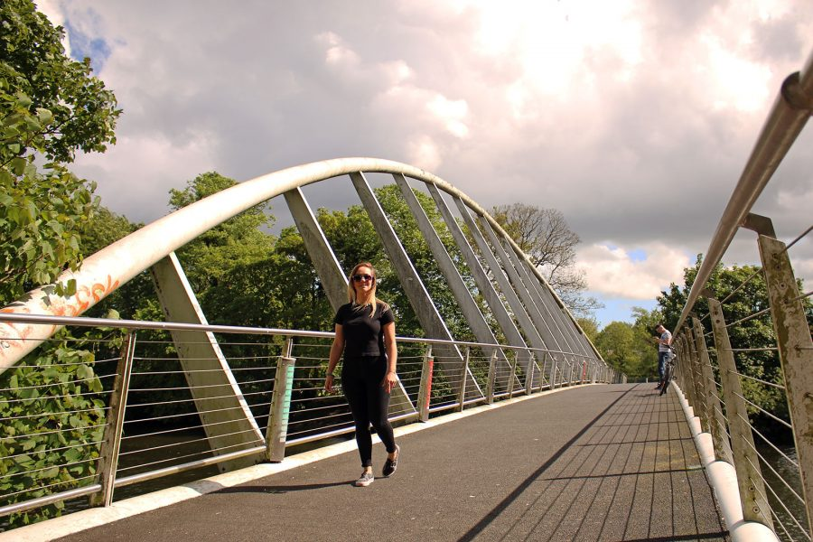 Mardyke Bridge - part of the Banks of the Lee Walkway