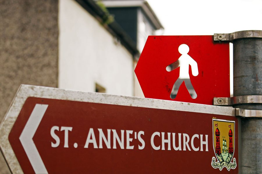 Follow these signs on the Cork Walks