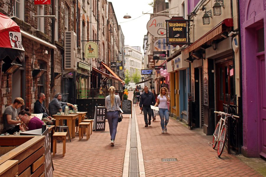 French Church Street, Cork, Things to do in Cork at night, restaurants in Cork City