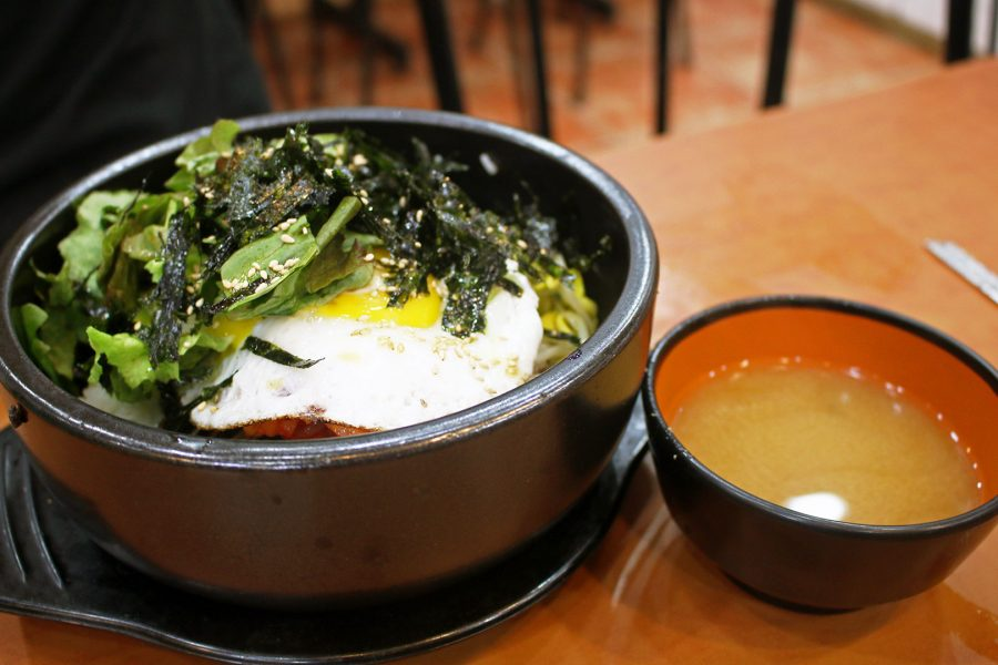Dolsot Bibimbap - Korean dishes