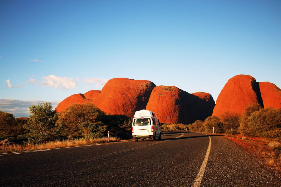 Making our way through the National Park to Kata-Tjuta