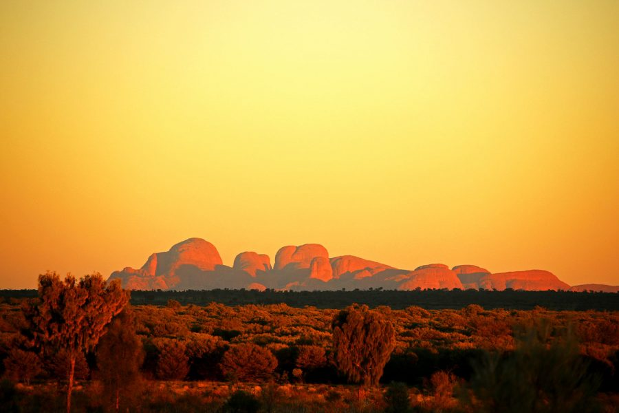 Sunrise at Kata-Tjuta