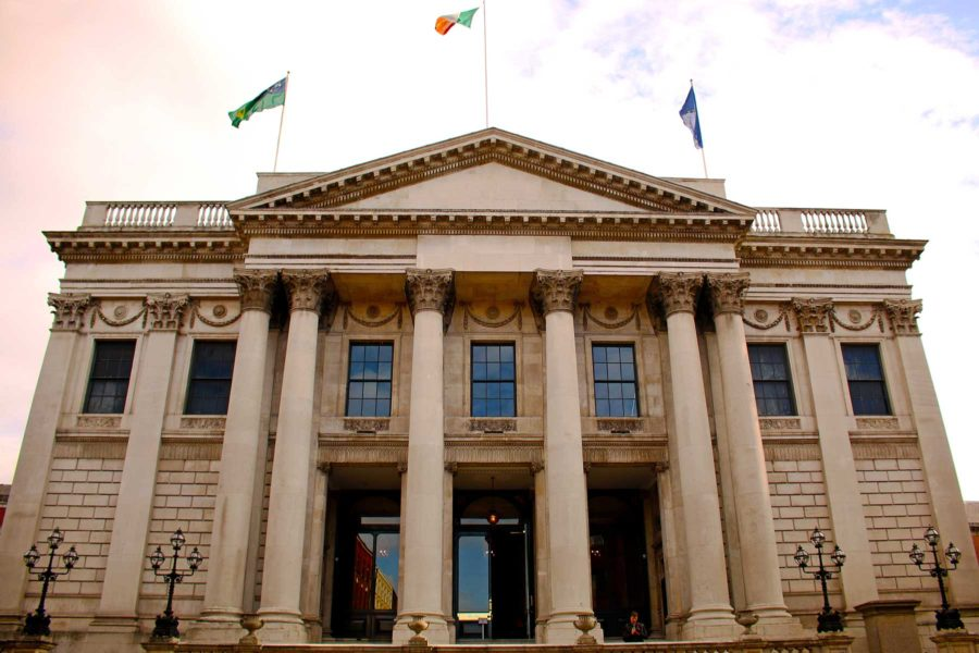 Dublin City Hall, things to do in Dublin on a budget