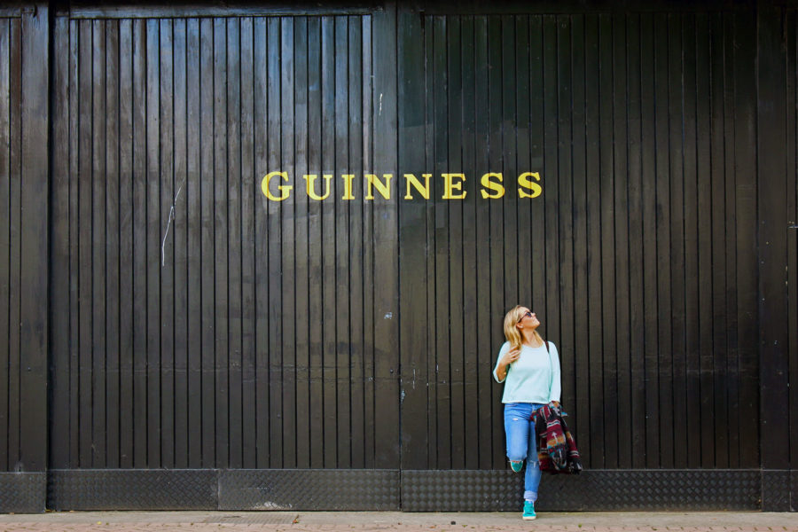 Getting that perfect Guinness Photo | Things to do in Dublin on a Budget