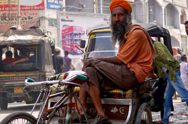 Modes of Transport in India - Cycle Rickshaw