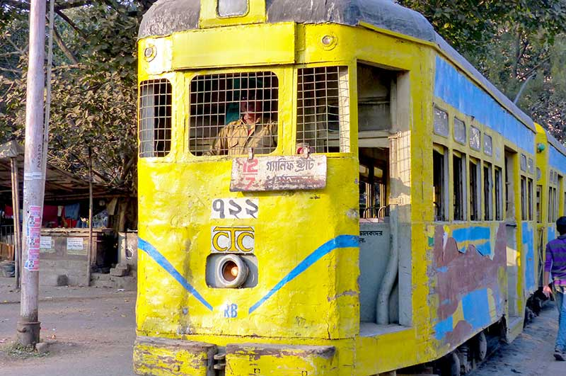 A Traveller's Guide to All Modes of Transport in India - Tram Kolkata