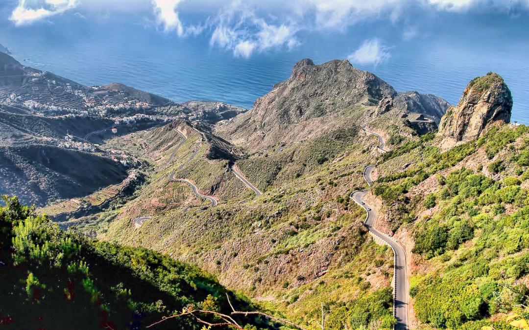 Exploring the Anaga Mountains, Tenerife