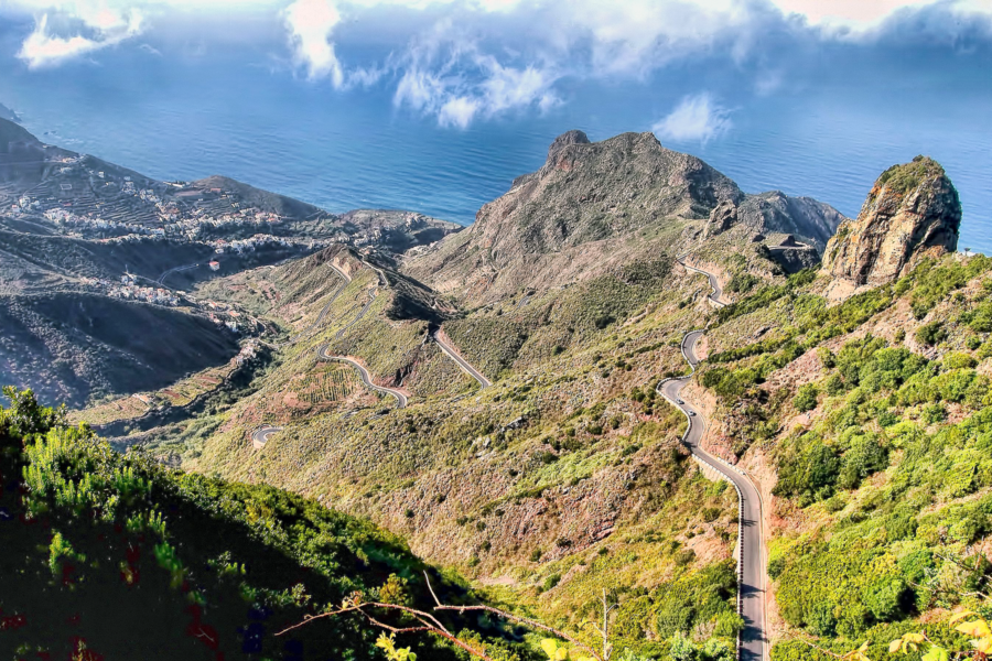 Winding Roads on the Anaga Peninsula