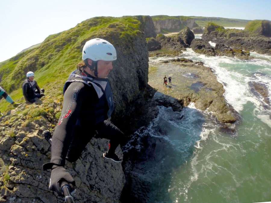 Coasteering Ireland | Unique Adventure Activities On North Antrim's Causeway Coast | Coasteering Northern Ireland