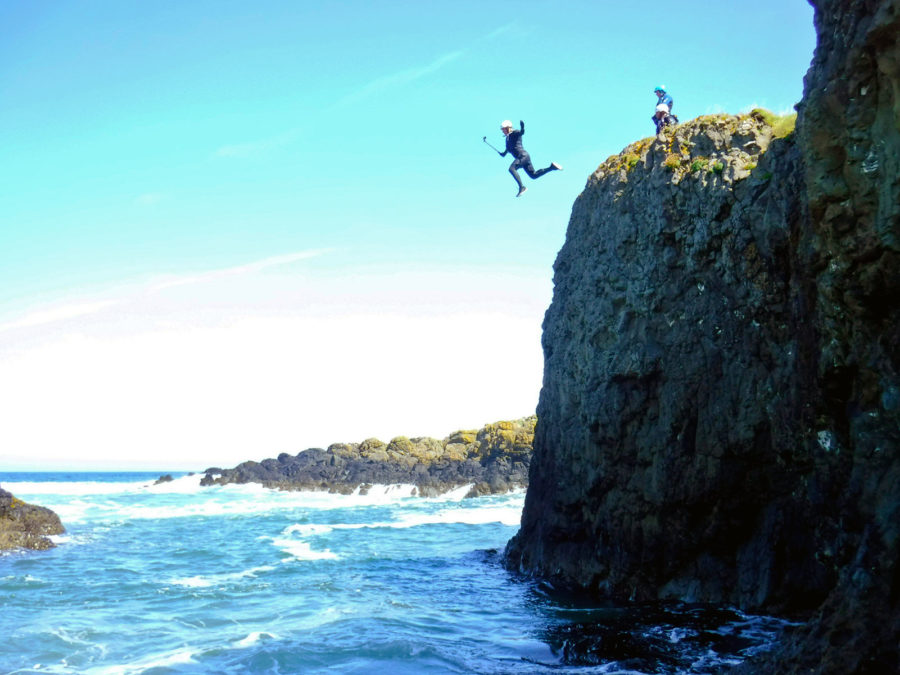 Coasteering Northern Ireland