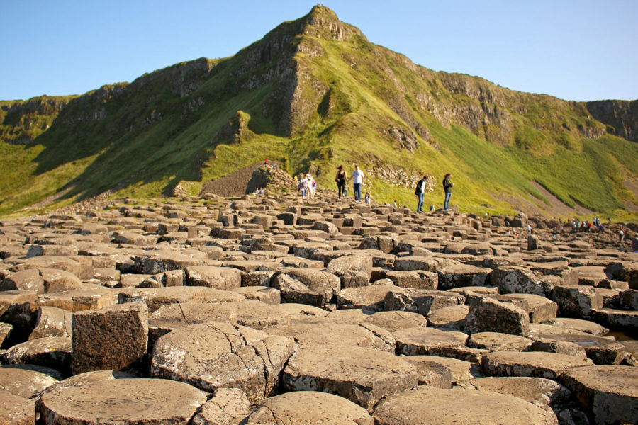 The famous hexagonal rocks of the Giant's Causeway | Causeway Coastal Route