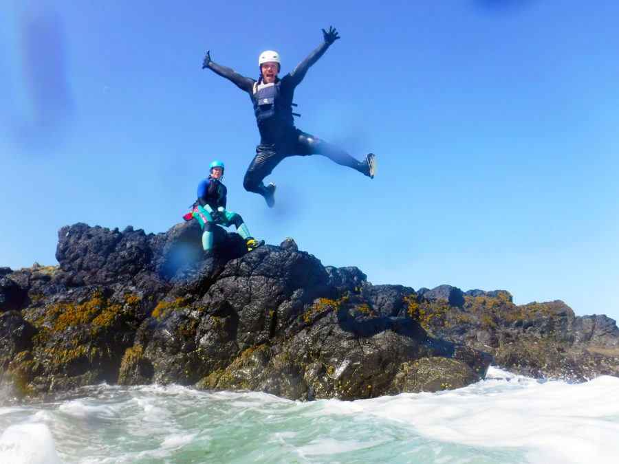 coasteering Northern Ireland | adventure on the Causeway Coastal Route
