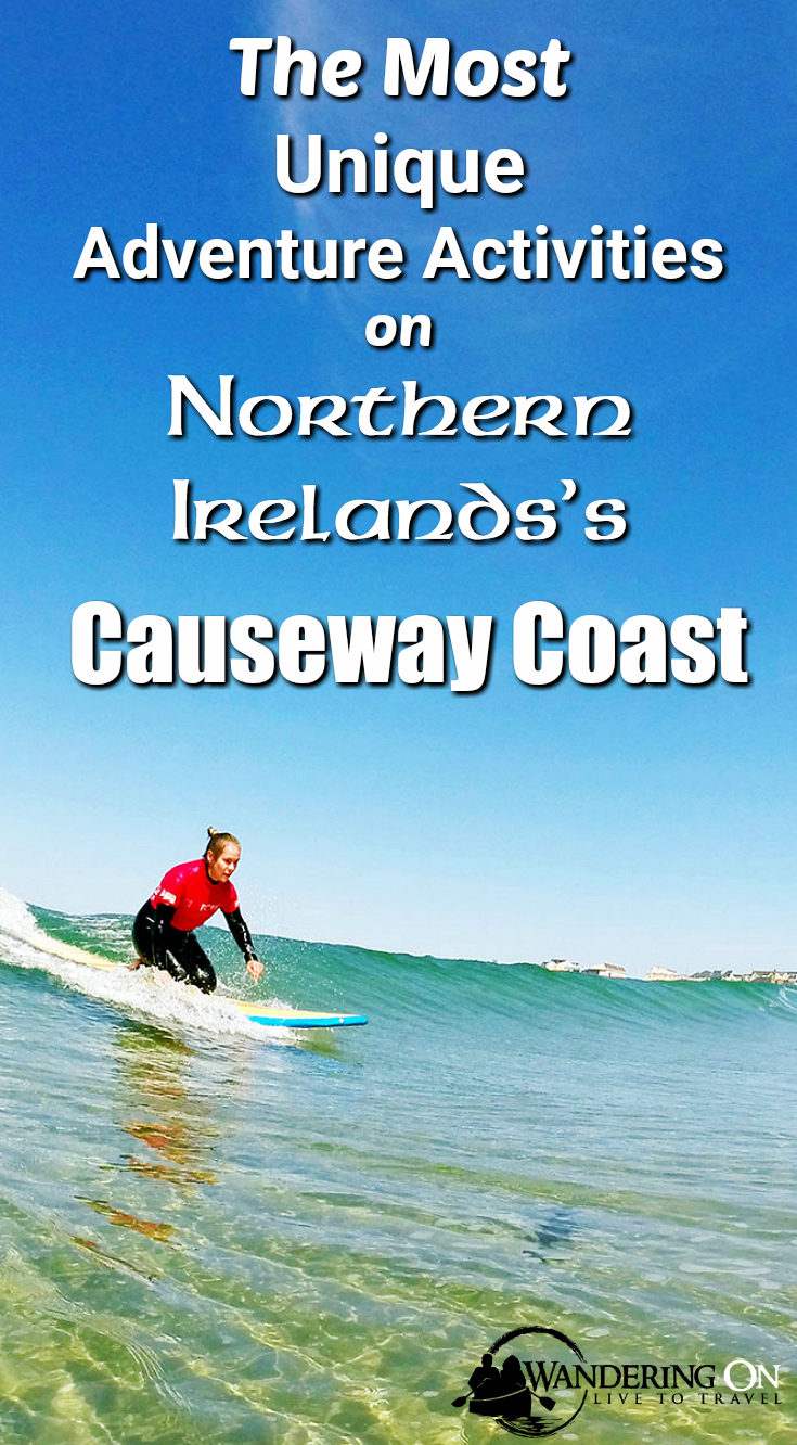 Unique Adventure Activities On North Antrim's Causeway Coast | Northern Ireland