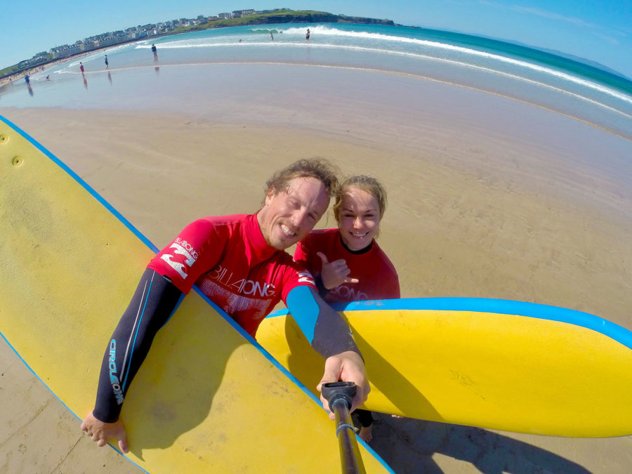 Surfing at West Strand Portrush | Unique Adventure Activities On North Antrim's Causeway Coast | Northern Ireland