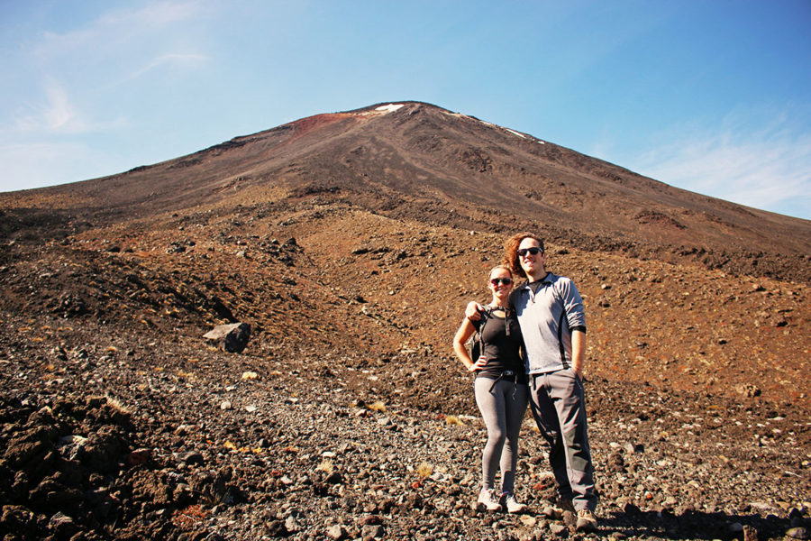 travel health insurance hiking Tongariro in New Zealand