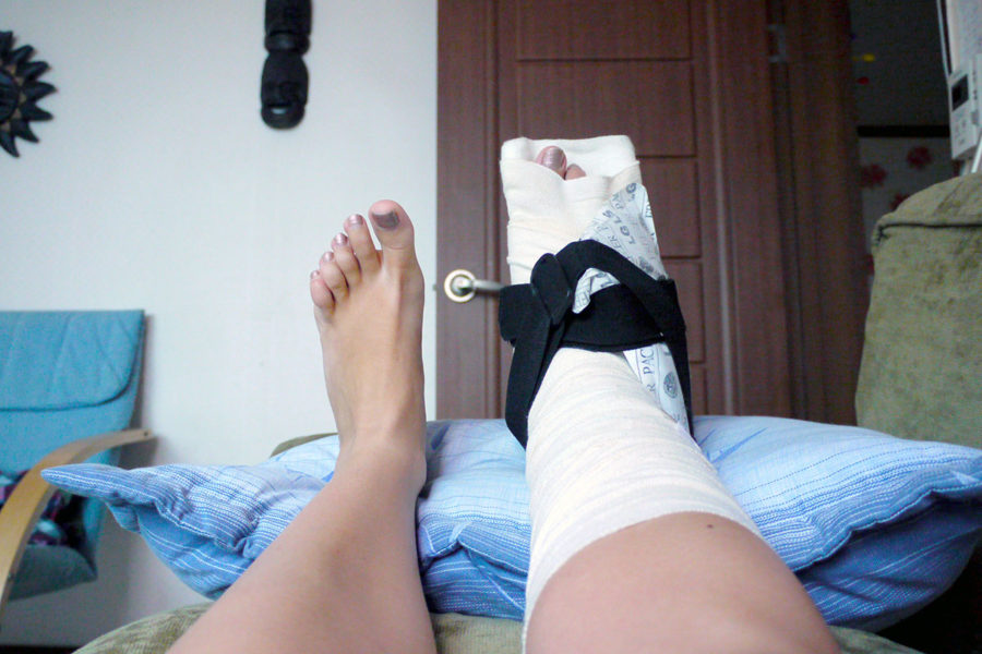 Best Backpacker Insurance - Noelle with a fractured ankle in South Korea covered under the National Health Insurance scheme