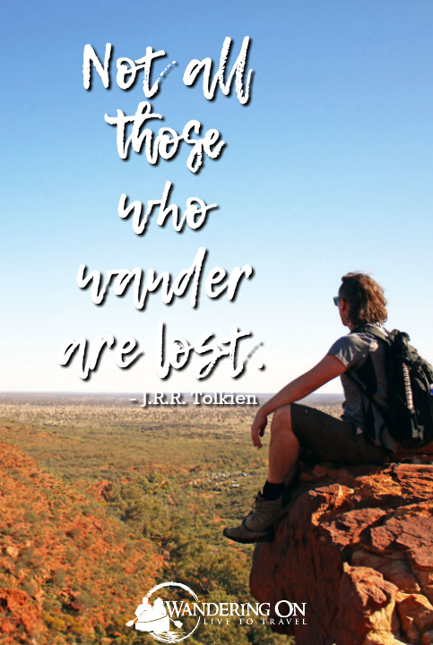 Best Travel Quotes Inspirational | travel quotes images | adventure quotes | explore quotes | Not All Those Who Wander Are Lost - JRR Tolkien