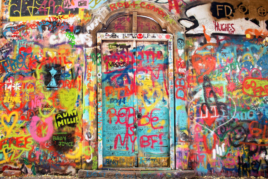 John Lennon Wall Prague, best free things to do in Prague, where to stay in Prague, Prague on a budget