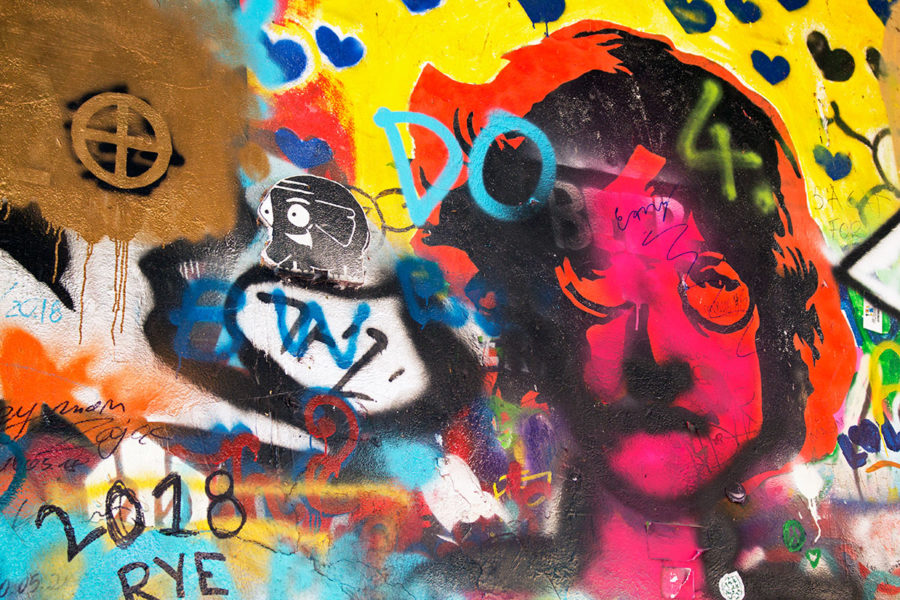 John Lennon Wall Best Free Things To Do In Prague, Prague attractions, What to do in Prague, best hidden things in Prague, Prague on a budget