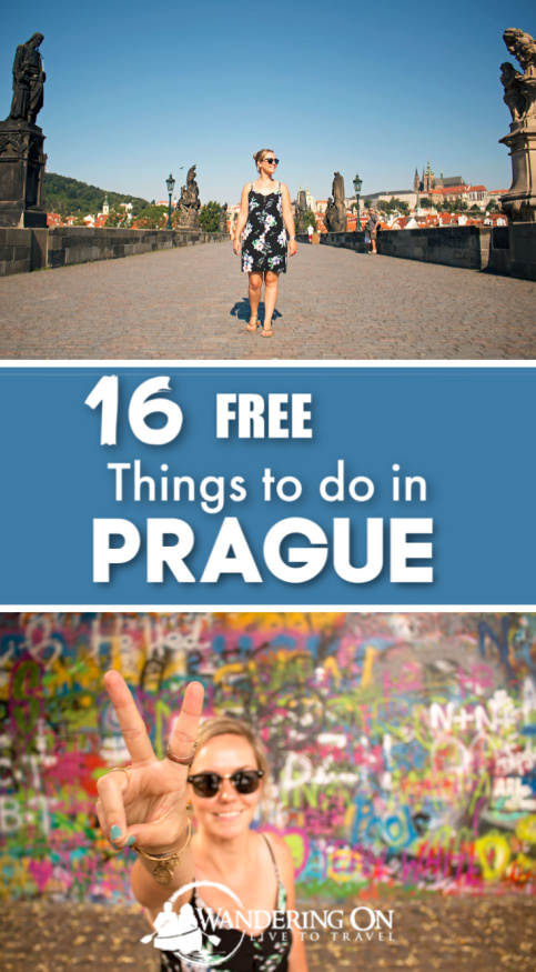 Pin It - The best free things to do in Prague. If you're heading to Prague and wondering what to do in Prague on a budget, we've put together a list of the must see attractions is Prague that are cheap and some of the best free things to in Prague | cheap things to do in Prague | Prague czech republic | Prague things to do in | Prague photography | Prague travel