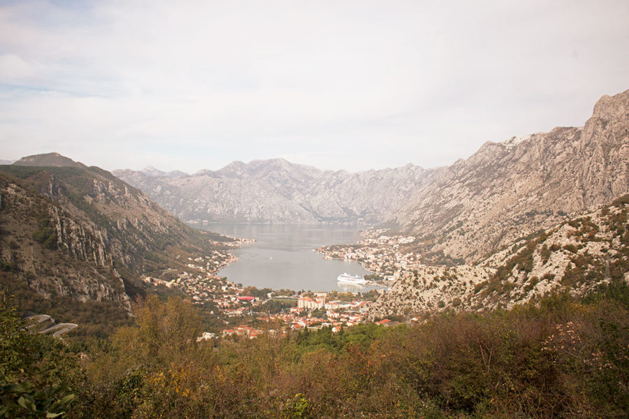 The best vantage points of the Bay of Kotor are from above | best things to do in Kotor