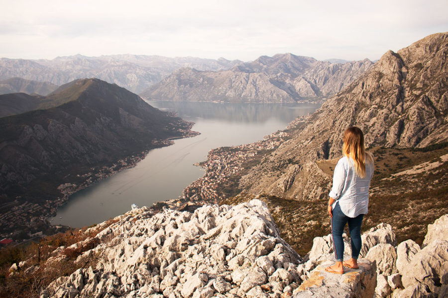 Epic views over the bay of Kotor from Krstac Pass | Best views of Kotor